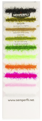 Straggle Legs Multicard assortment fly tying semperfli