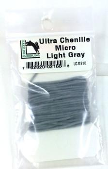 ultra chenille micro light gray
