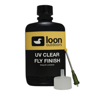 loon uv clear fly finish large bottle