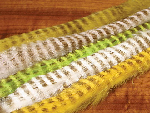 Hareline Dubbin Magnum Tiger Barred Rabbit Strips