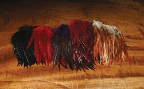 Hareline Strung Woolly Bugger Saddle Hackle