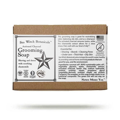 Grooming Soap - with activated charcoal