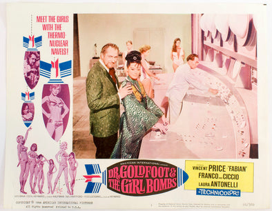 Dr Goldfoot And The Girlbombs Movie Poster 11x17 Mini Poster