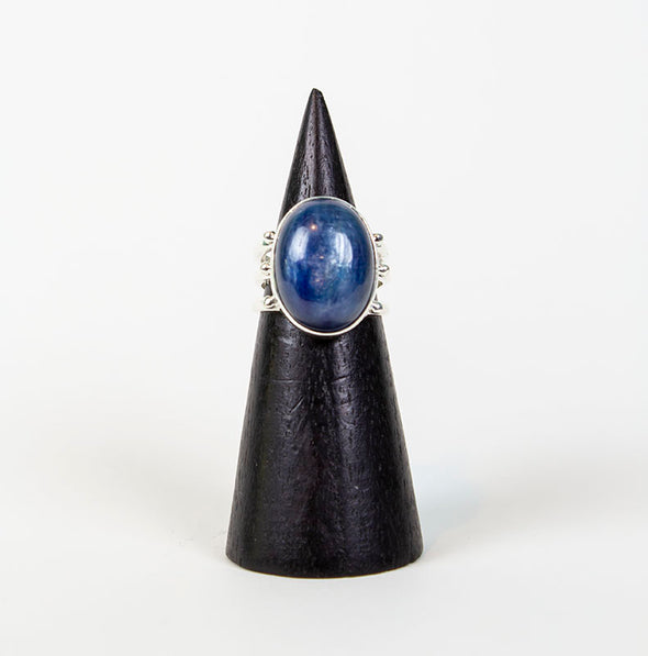 Kyanite Prong Ring