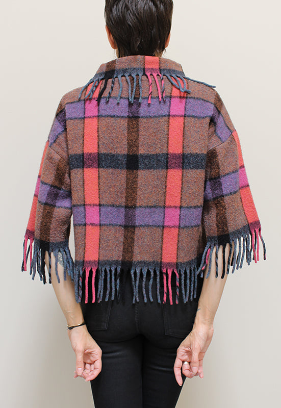 Chestnut Hill Fringe Sweater