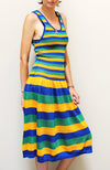 Striped Yves St Laurant Dress