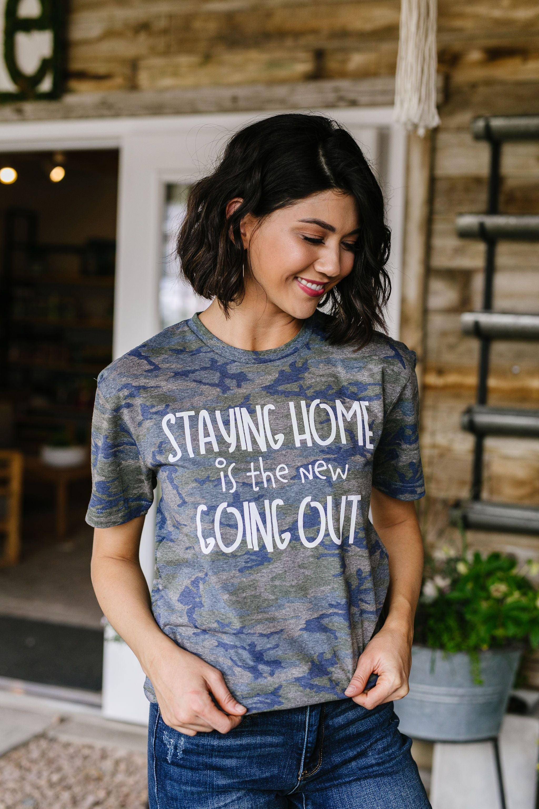 Home Body Graphic Tee