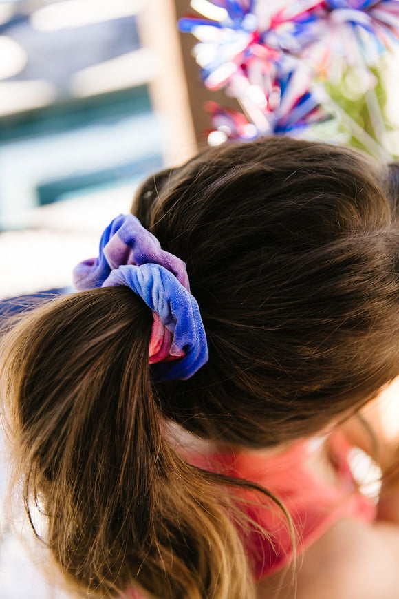 Red White & Beautiful Scrunchie