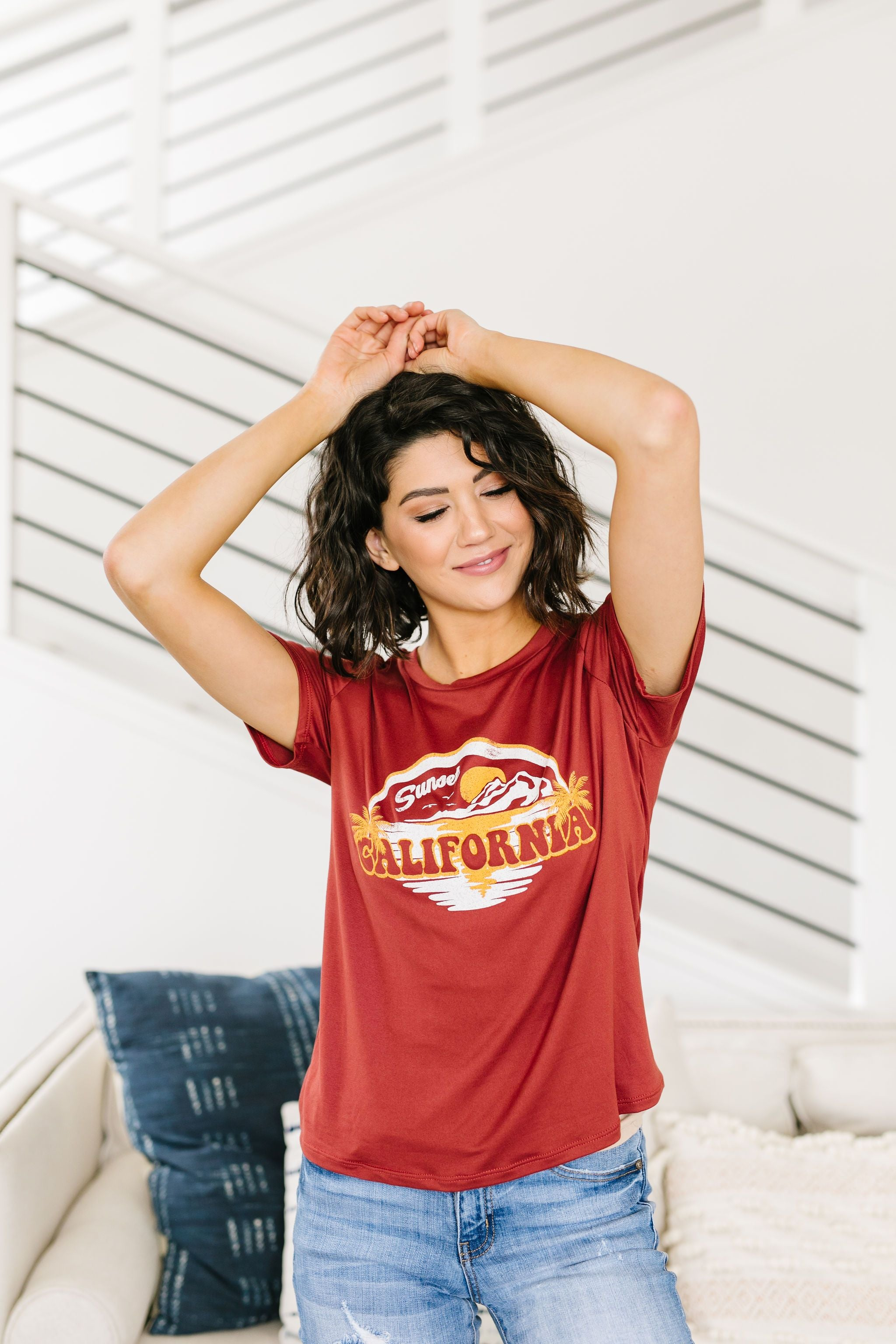 Where The Sun Sets Graphic Tee