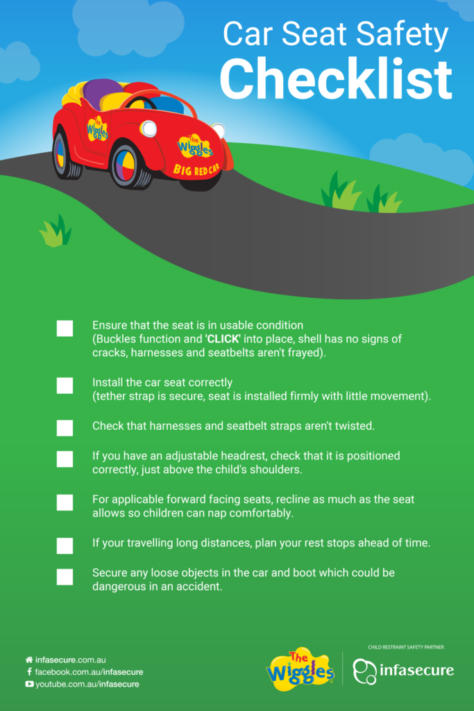 Long Trips Check This Safety Checklist Car Safety