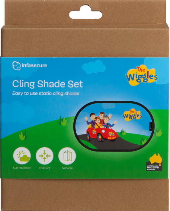 The Wiggles - Cling Shade Set