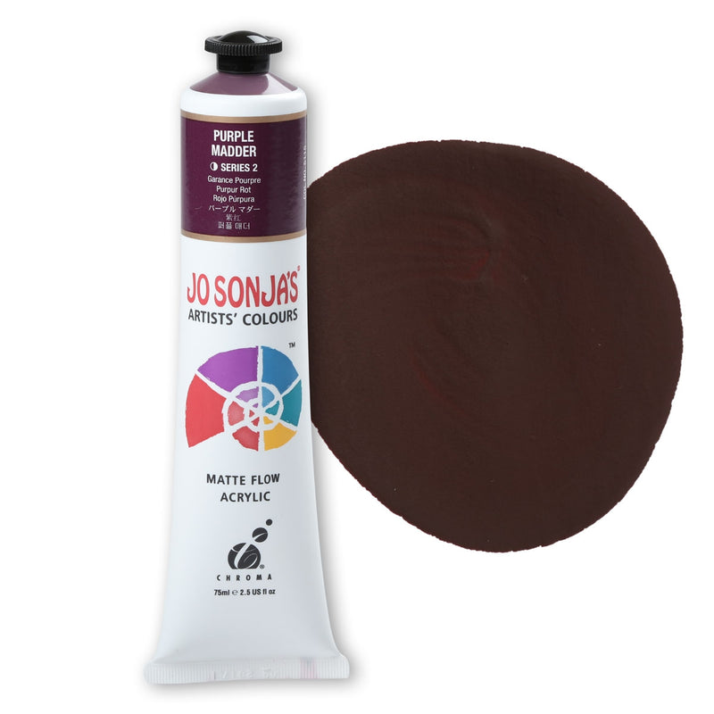 JS Acrylic Paint S2 75ml - Purple Madder
