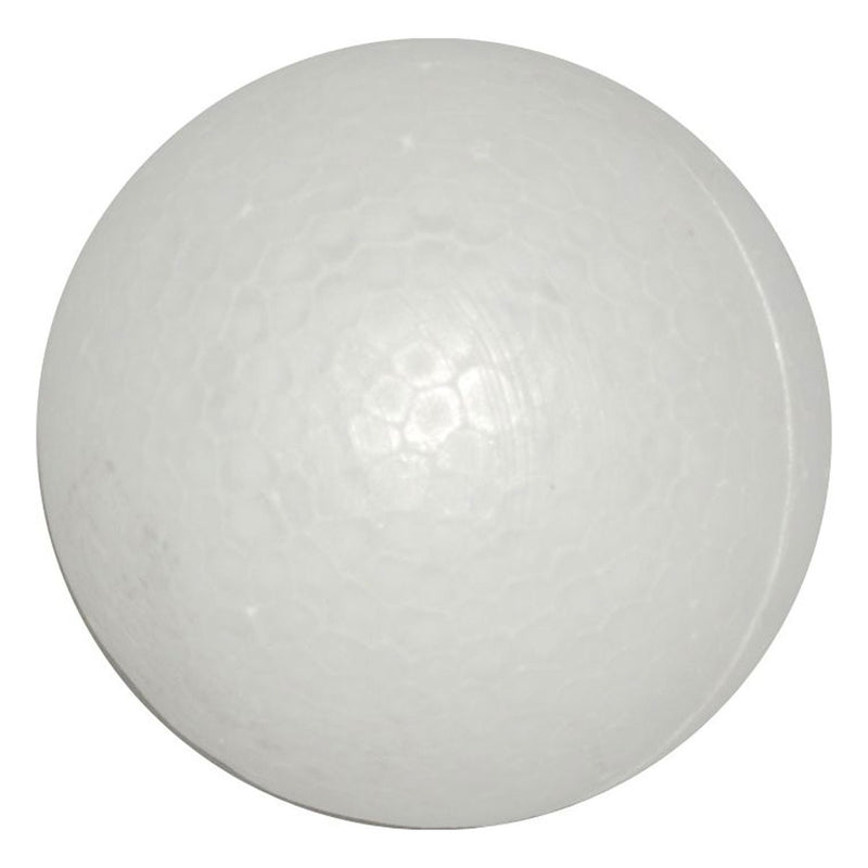 Light Gray Carnival Polyfoam Ball 65mm Polystyrene