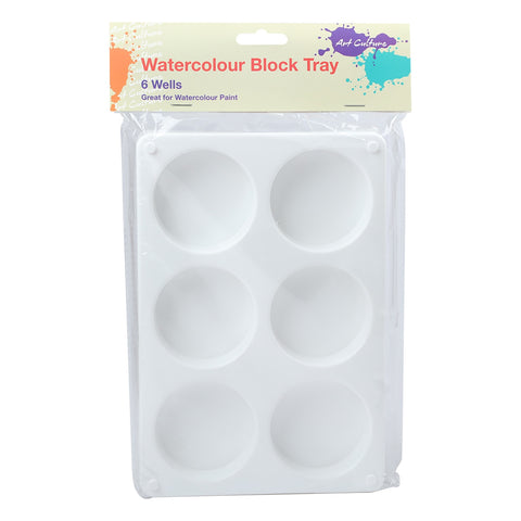 Art Culture Watercolour Block Tray 8.25x5.5in