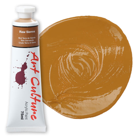 Art Culture Acrylic Paint 75ml - Raw Sienna