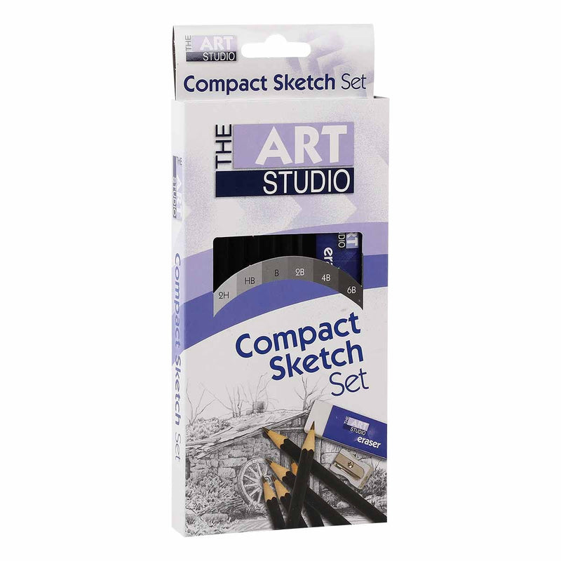 The Art Studio Artist Compact Sketching Set