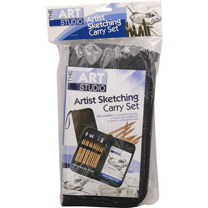 The Art Studio Artist Sketching Carry Set