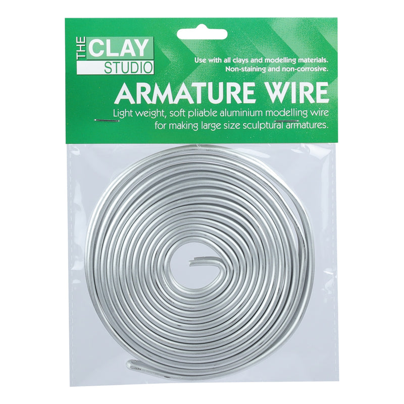 The Clay Studio Aluminium Armature Wire 3.2mm x 6m
