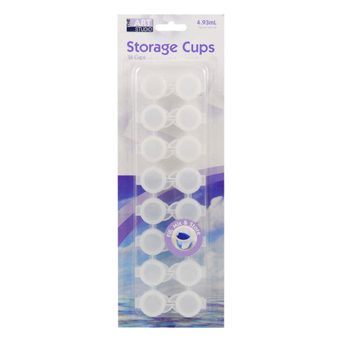 Art Culture 16 Storage Cups Blister Carded