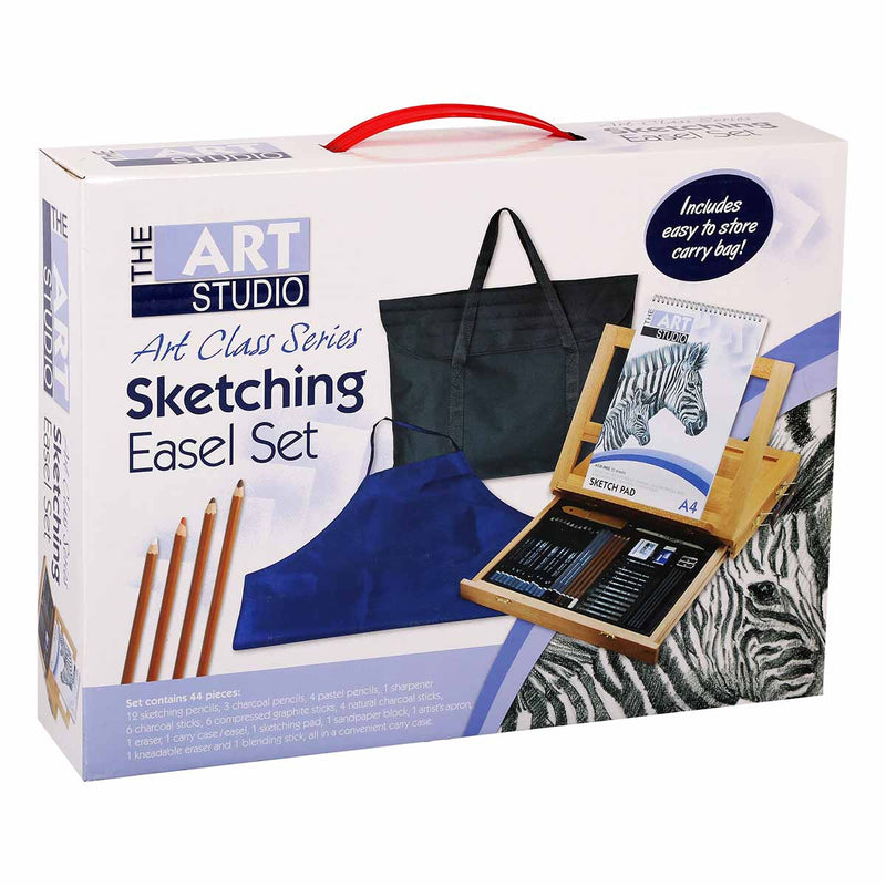 The Art Studio Art Class Series Sketch Easel Set