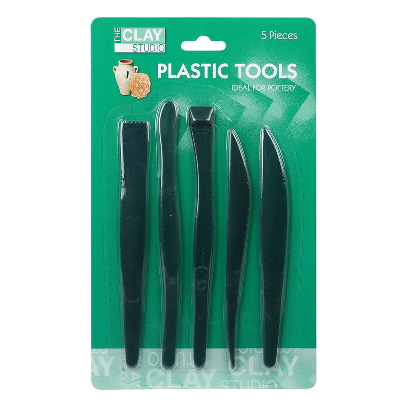 The Clay Studio Plastic Tool Set 5 Pieces