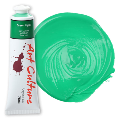 Art Culture Acryl. paint 75ml Perm Green light