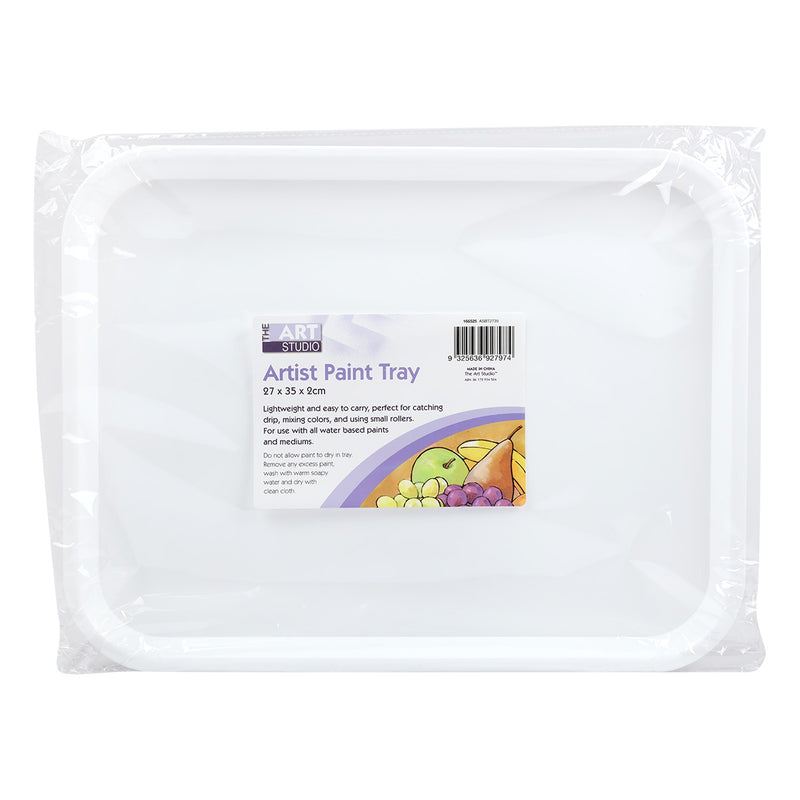 Lavender The Art Studio Artist Paint Tray 27 x 35 x 2cm Art Accessories