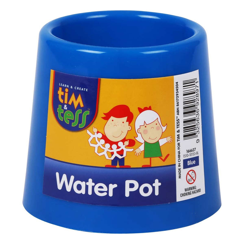Tim & Tess Water pot 3.5x4.5x3.35 blue