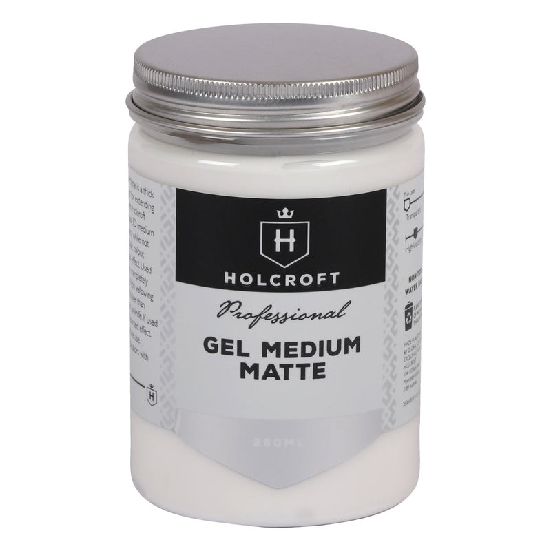 Holcroft Gel Medium Matte 250ml