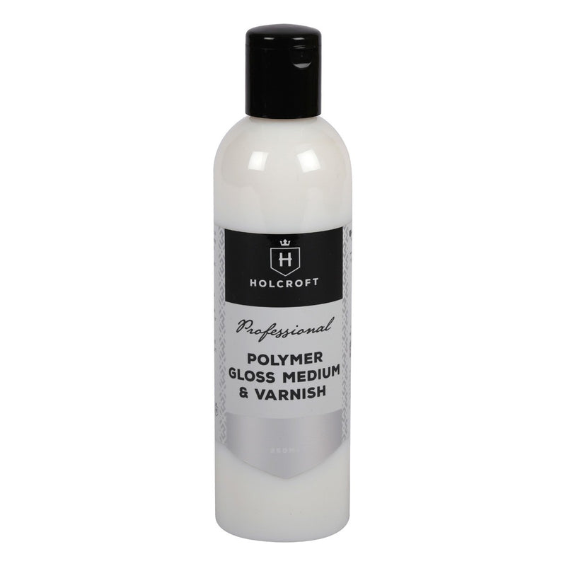 Holcroft Polymer Gloss Medium & Varnish 250ml