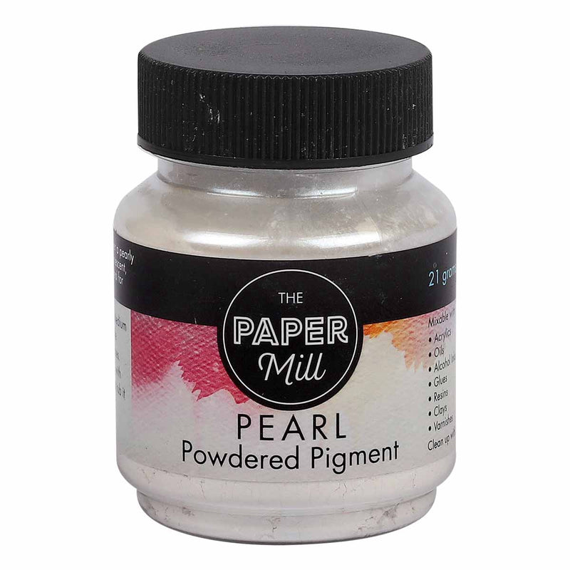Black The Paper Mill Pearl Powdered Pigment Micro Pearl 21g Pigments