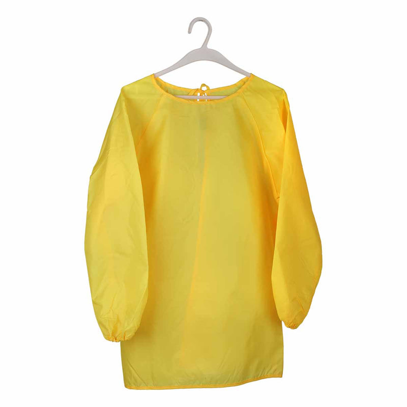Polyester Art Smock 9-12years 72x54cm - Yellow