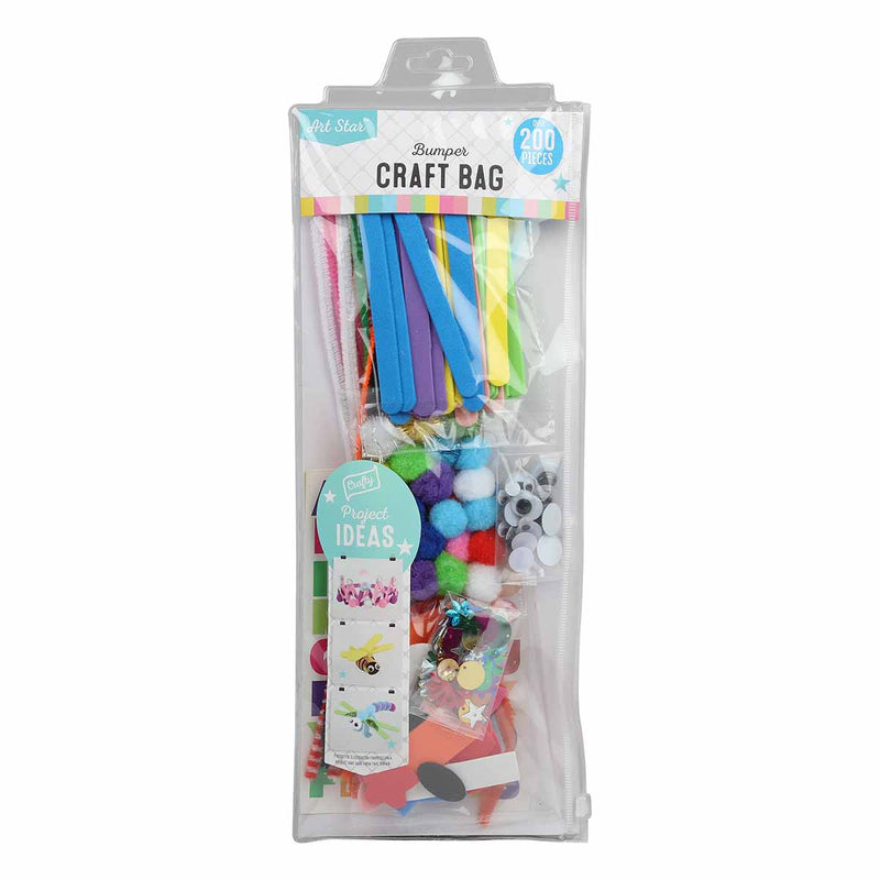 Royal Blue Art Star Bumper Craft Accessories Pack Pastel Craft Accessories
