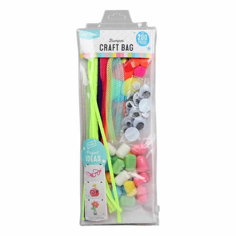 Art Star Kids Craft Accessories Bumper Pack Neon