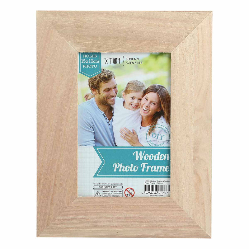 Wooden Photo Frame 17 x 22cm