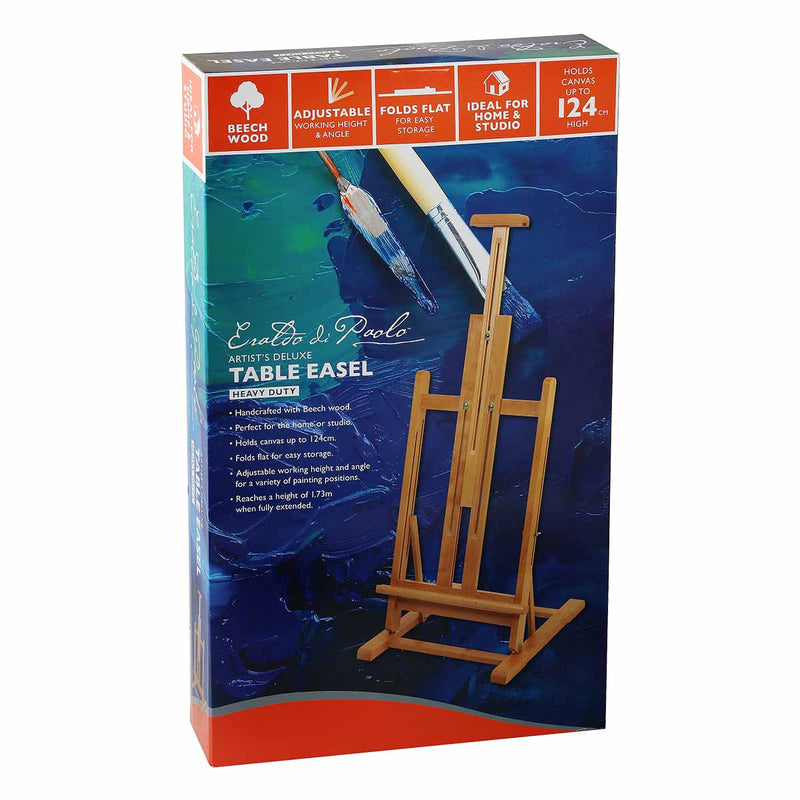 Midnight Blue Eraldo Di Paolo Deluxe Table Easel* Easels And Cases