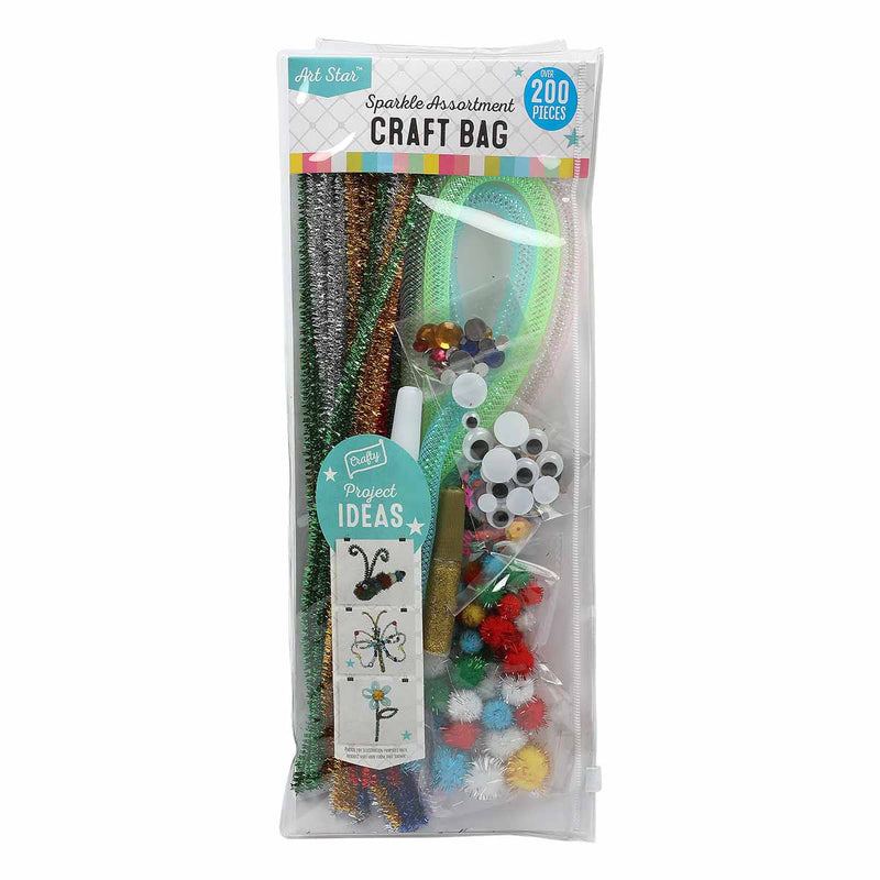 Art Star Sparkle Bumper Craft Bag