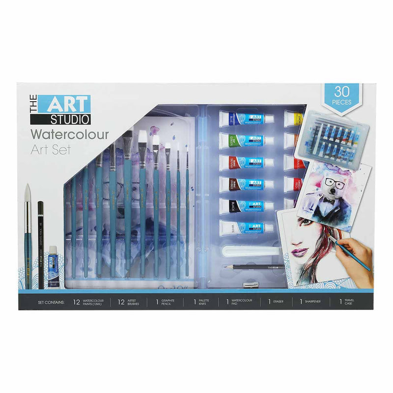 ArtStudio 30pcWatercolour Travel Artist Set