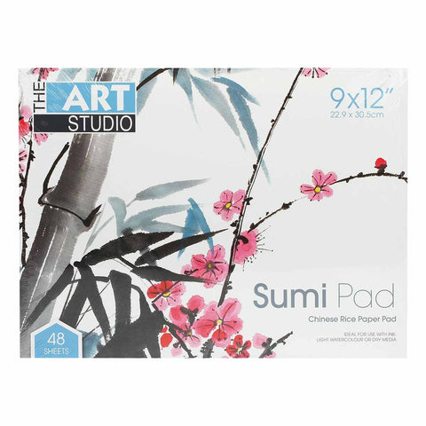 As Sumi Pad - Chinese Rice Paper 48 Sheets-22x30cm