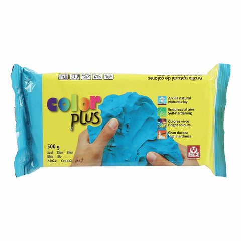 Colorplus Coloured Natural Self Hardening ClayBlue