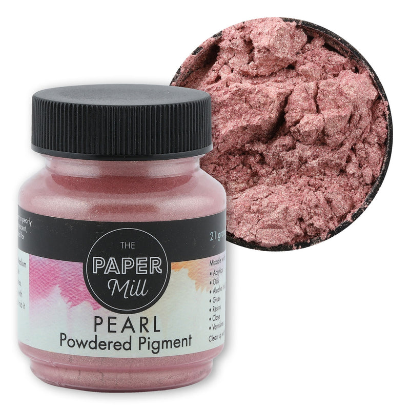 Dim Gray The Paper Mill Pearl Powdered Pigment Rose Gold 21g Pigments