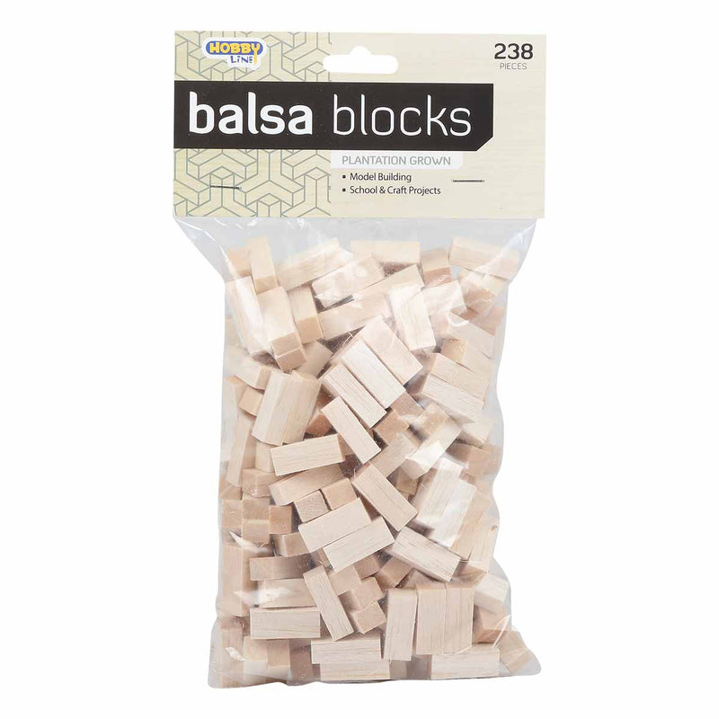 Hobby Line Balsa Bricks 238pc
