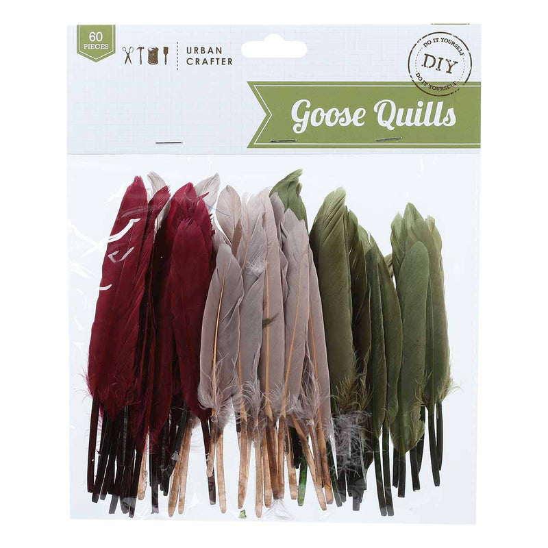 Urban Crafter Goose Quills Bloom Mix 60 Pieces
