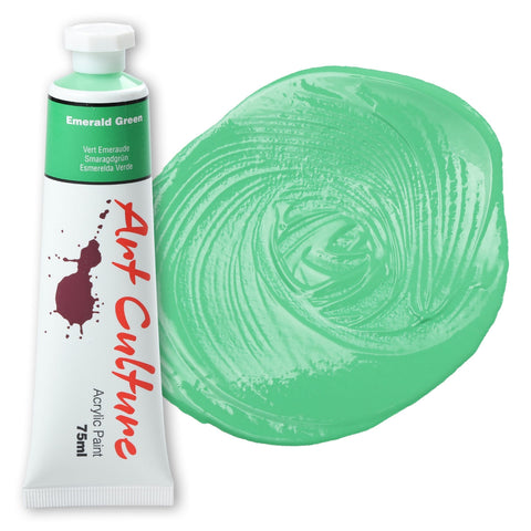 Art Culture Acrylic Paint 75ml - Emerald Green