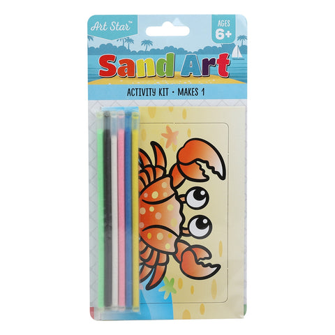 Art Star Sand Art Small Activity Kit Assorted