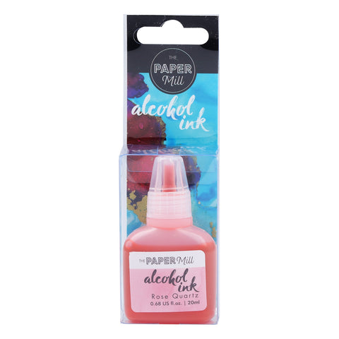 The Paper Mill Alcohol Ink Rose Quartz 20ml
