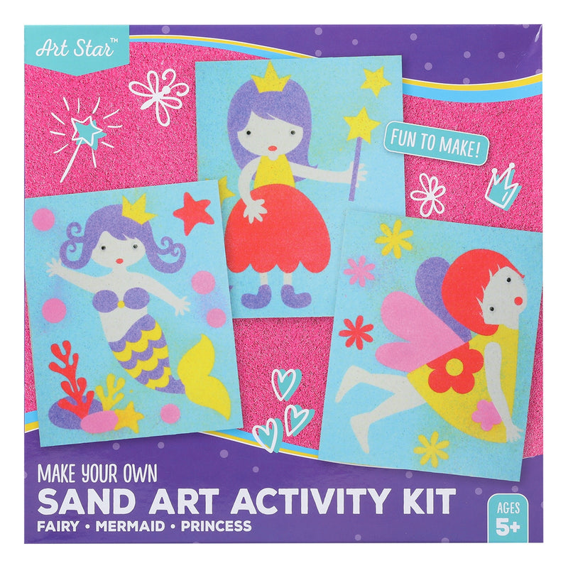 Art Star Make Your Own Sand Art Activity Kit Fairy/Mermaid/Princess
