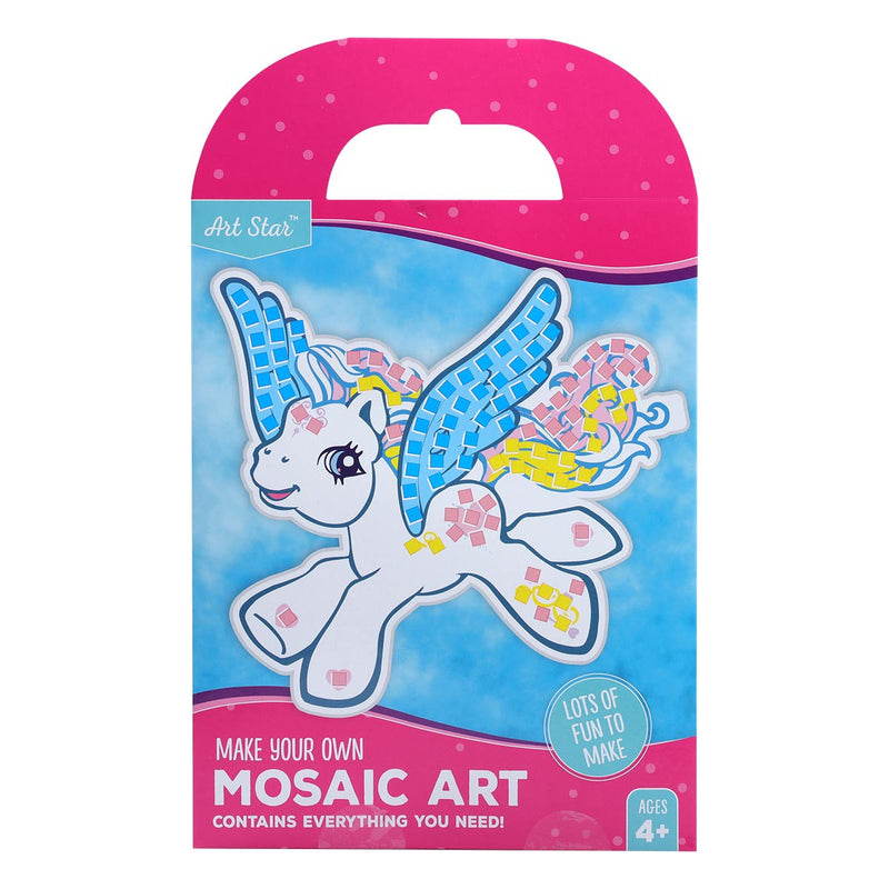 Art Star Mosaic Art Pegasus Makes 1
