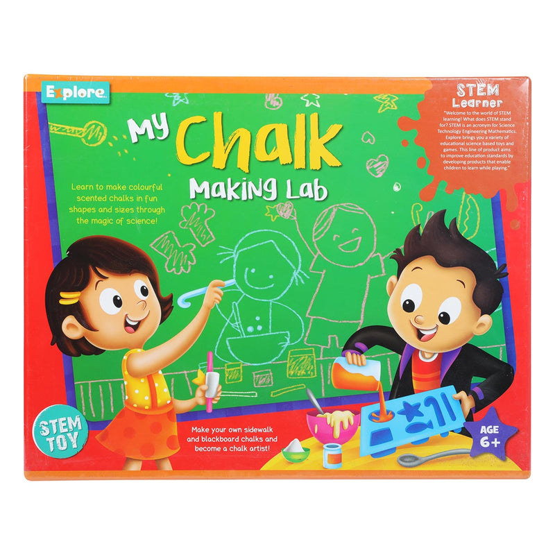 Explore STEM My Chalk Making Lab