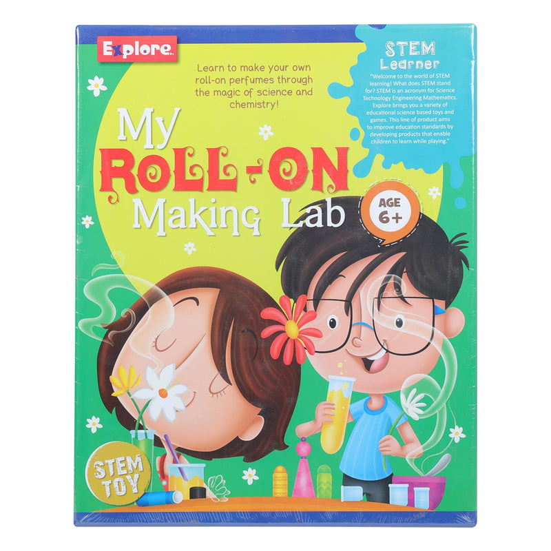 Explore STEM My Roll On Perfume  Making Lab